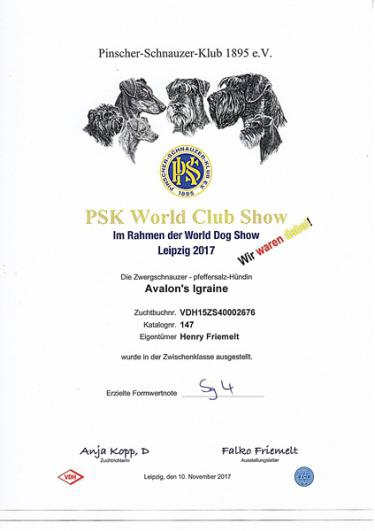 PSK World Club Show 2017